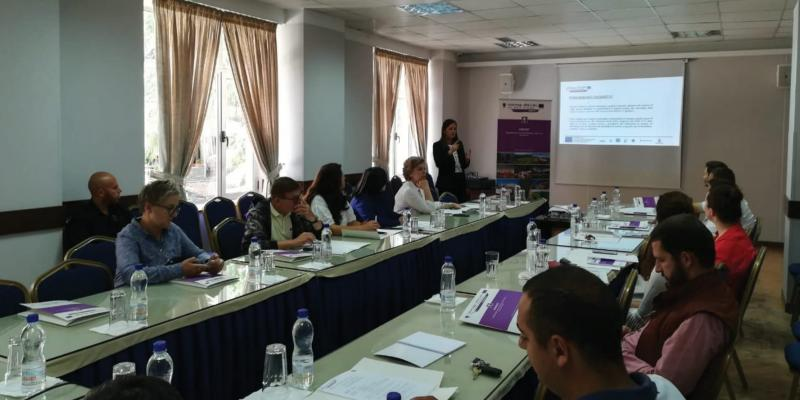 """Hamlets on the move: Round-table with local SMEs on 24 July in Gjirokastra,AL"