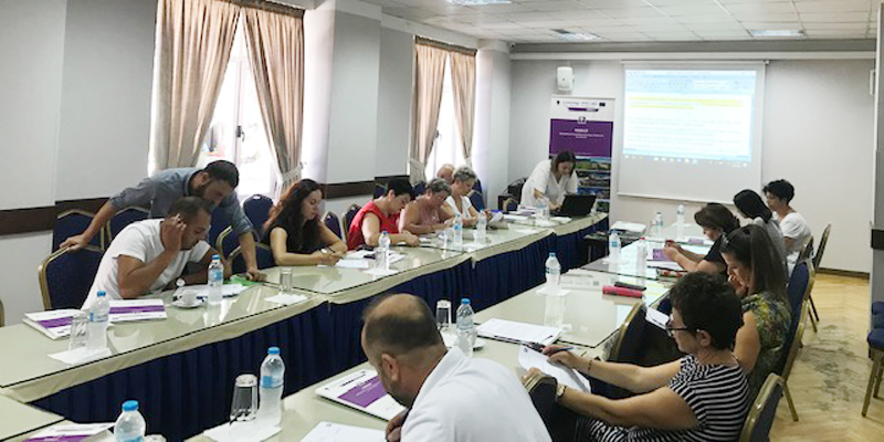 Round table held in Gjirokastra, AL with the local SME-s