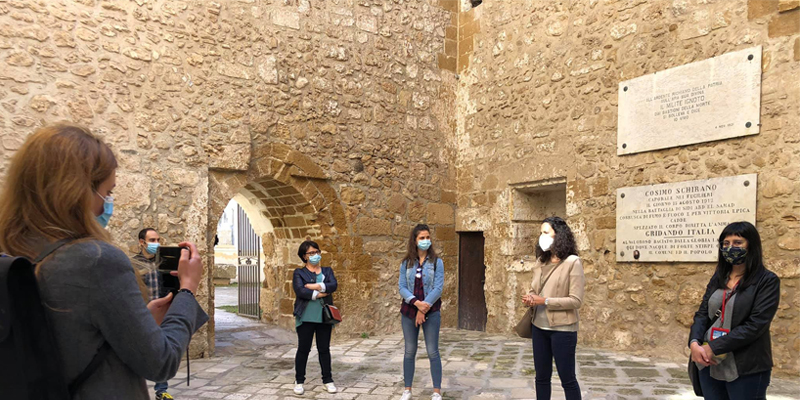 Guided Tours in the historic center of Apulian Villages