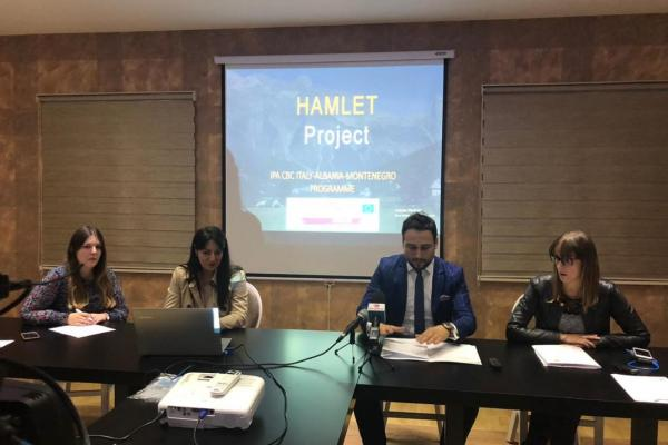 HAMLET, 2nd Steering Committee and project meeting on 31 October in Cetinje, Montenegro